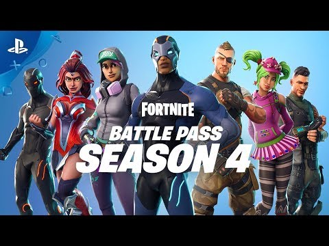 Fortnite - Battle Pass Season 4 Launch Trailer | PS4