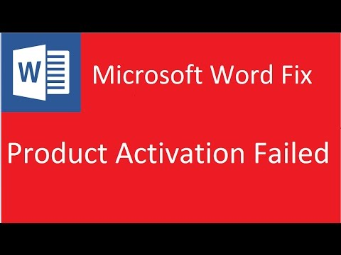 Product Activation Failed Microsoft Word 2010 Solution