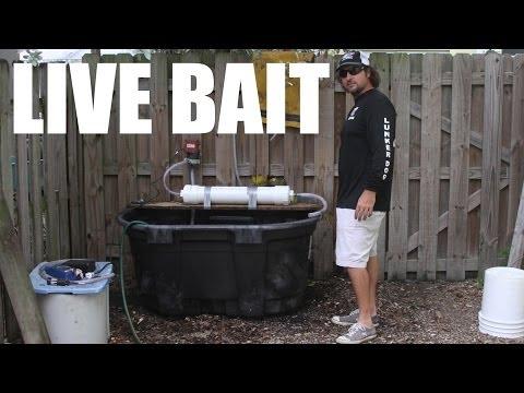 100 Gallon Live Fishing Bait Tank Build Video - Supreme Live Well