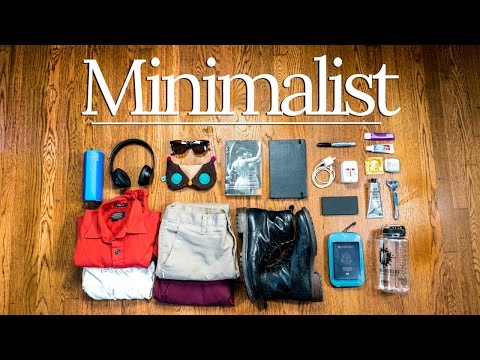 Minimalist DIY Travel ESSENTIALS | PRO Packing Tips ✈🌎