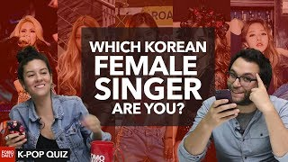 Which Korean Female Singer are you? • Fomo Daily's K-POP Quiz