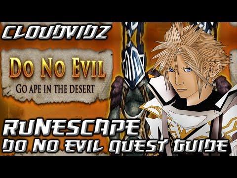 Runescape Do No Evil Quest Guide HD