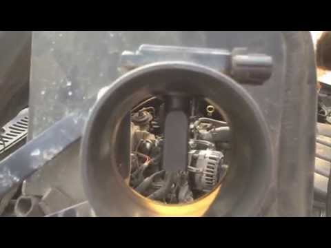 How to Clean a Mass Air Flow Sensor (Mustang GT 2003)