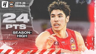 LaMelo Ball Drops SEASON HIGH 24 Points w/ Eight Assists in NBL Victory