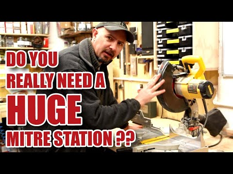 Why I Don't Have A HUGE Mitre Saw Station! GHTL#12 [88]