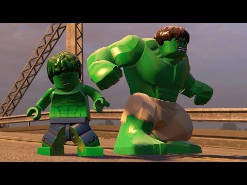 LEGO Marvel's Avengers - All Hulk Characters | Free Roam Gameplay  (PC HD) [1080p]