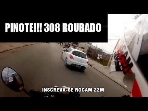 PINOTE ROCAM 22M NO ACOMPANHAMENTO PEUGEOT 308 ROUBADO
