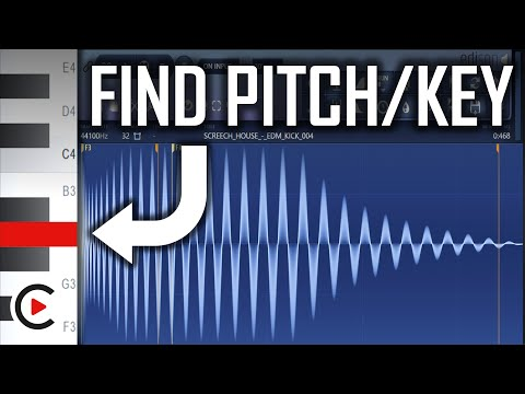 HOW TO FIND KICK PITCH FL STUDIO   How to Find the Key of a Kick Edison Tutorial FL Studio Pitching