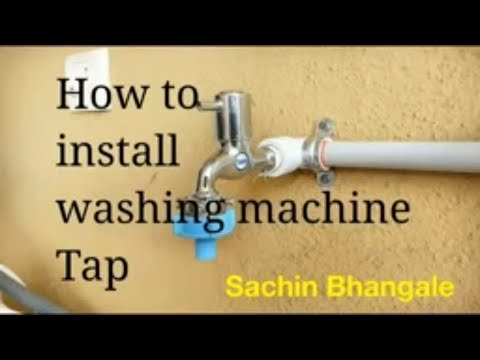 How To Install Washing Machine Tap, easy steps