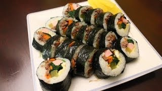 Download How to Make Korean Traditional Kimbap (김밥) Video