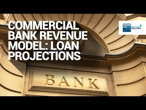 Commercial Bank Revenue Model: Loan Projections