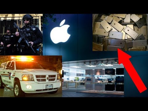 APPLE STORE SECURITY JACKED OUR STUFF! Apple Store Dumpster Dive Haul!
