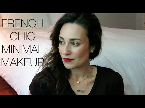 French Chic Minimal Makeup Look | L'amour et la Musique