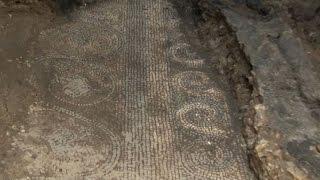 Roma come Pompei, da scavi Metro C spunta solaio legno III secolo