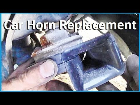 How to Access and Replace Car Horn