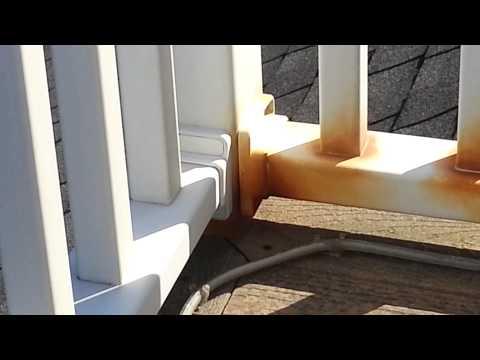 Yardcrafter vinyl railing 2