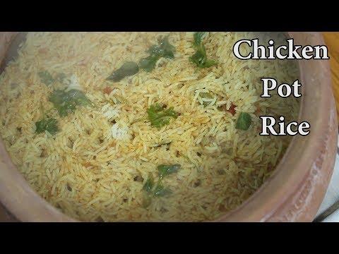 Chicken Pot Rice @ Mana Telangana Vantalu