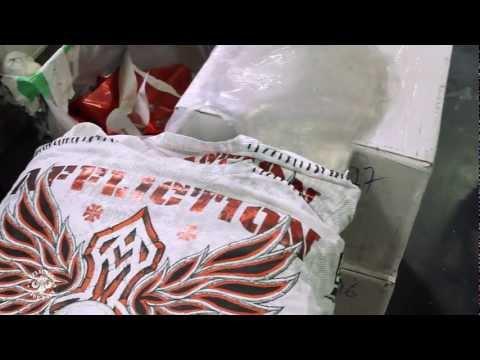 Foiling an Affliction Shirt