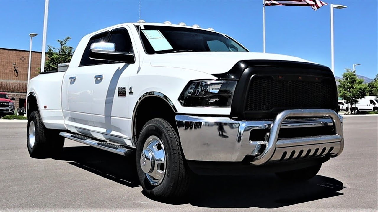 A Used Ram 3500 With The 6.7L Cummins And No DEF Is The Ultimate Diesel Truck To Buy!