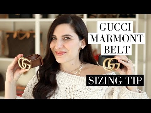 Gucci Marmont Belt - Sizing and Adding Holes