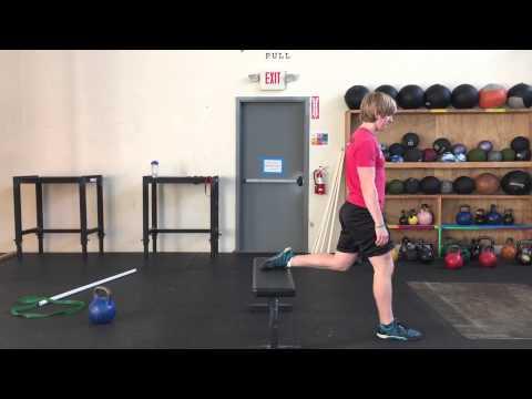 warm up knee series
