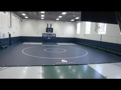 Middle Schools get Wrestling Mats