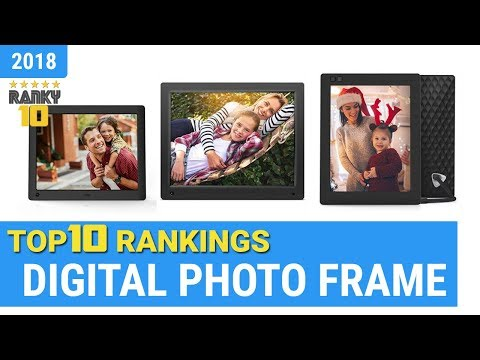 Best Digital Photo Frame Top 10 Rankings, Review 2018 & Buying Guide