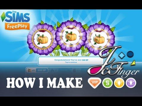 Sims FreePlay HOW I MAKE 💰LP, SP AND SIMOLEONS💰.