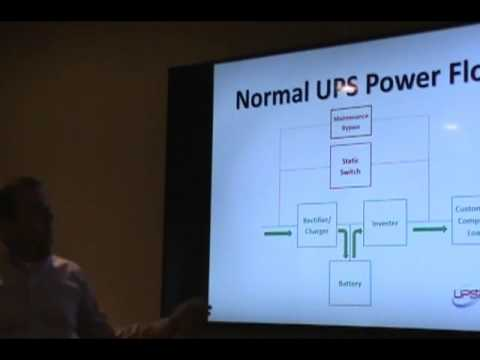 How does a UPS work?