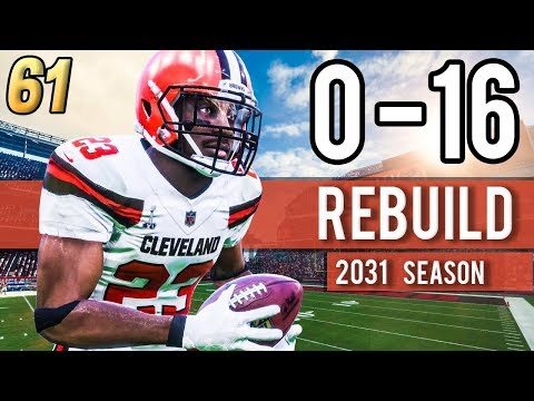GREENBERRY THINKING ABOUT RETIREMENT?  (Year 14) - Madden 18 Browns 0-16 Rebuild | Ep.61