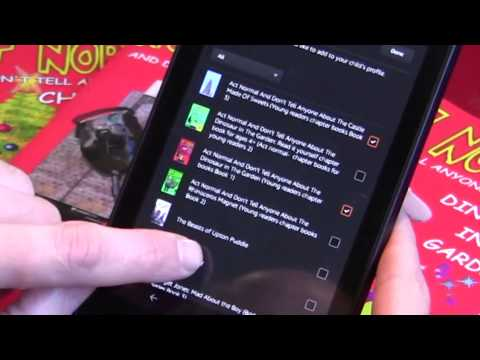kindle parental controls-  how to set up limits on your kids use of a tablet using a kindle fire hd