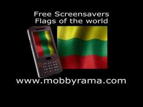 Flags of the world - Free mobile phone screensavers