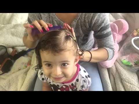 CUTE easy HAIR TUTORIAL FOR TODDLER GIRL