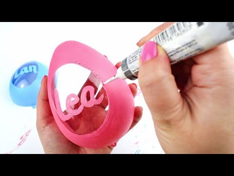 DIY - Personalized Surprise Eggs - Easy Gift Tutorial - AMAZING IDEAS!