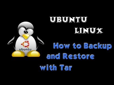 How to Backup and Restore Ubuntu Server Using Tar in Terminal