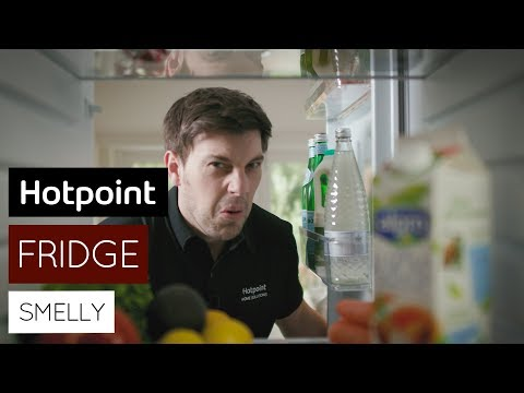 How to clean a smelly fridge   by Hotpoint