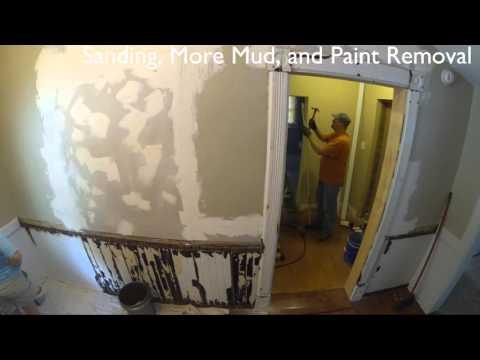 DIY Load Bearing Wall Door Opening Move