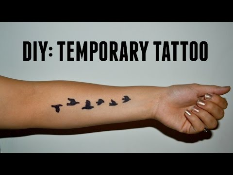 DIY: Temporary Tattoo