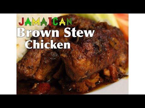 Jamaican Brown Stew Chicken | Hello Sweet Biscuit