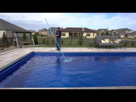 Pool School: Cleaning Your Pool:  Leaf Rake