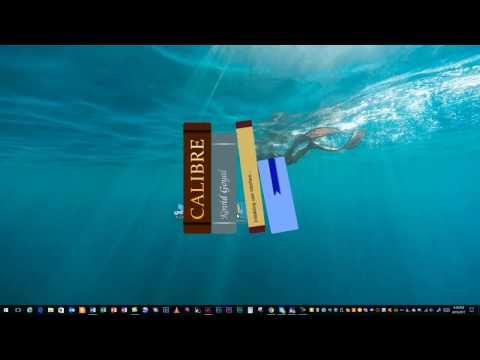 Convert Kindle eBooks to PDF (Windows 10)