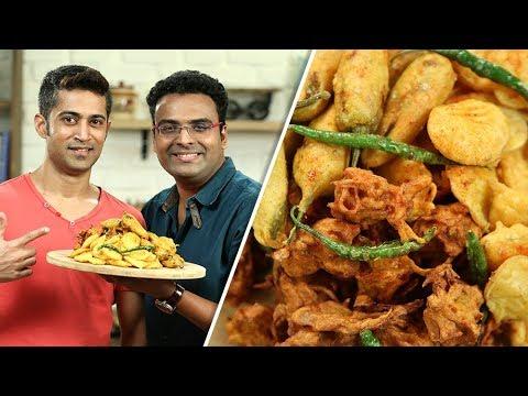 Bhajia Recipe | How To Make Homemade Bhajias | Varun Inamdar feat. Fitness Special with Royston