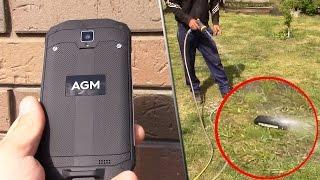 AGM А8 вместо мастерка и лопаты