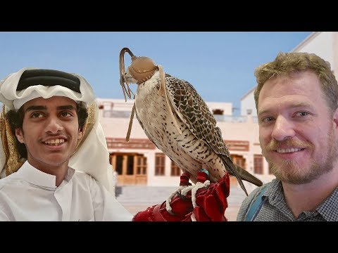 A million dollars for a bird!?!! -  in Doha