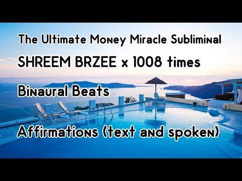 Ultimate Money Miracle Subliminal - Shreem Brzee Mantra