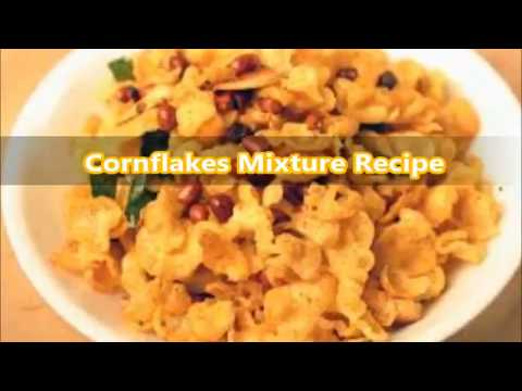 how to prepare Cornflakes mixture (Festival recipes)