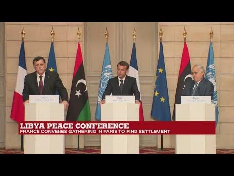Libyan factions commit to Dec. 10 elections at Paris talks