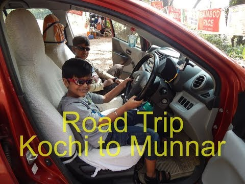 Road Trip - Kochi to Munnar