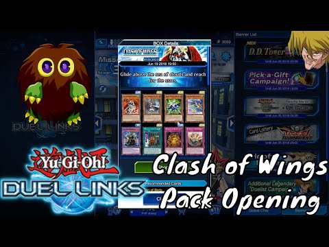 Yugioh Duel Links - Clash of Wings Pack Opening
