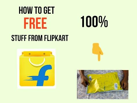 HOW TO GET FREE STUFF FORM FLIPKART 100%